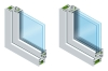 Special types of glass that improve the characteristics of windows and doors